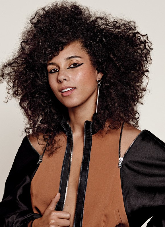 Alicia Keys New Haircut Pics
