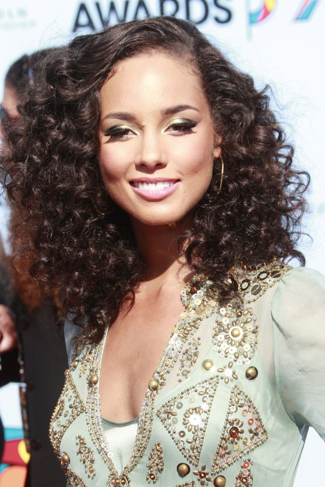 Alicia Keys Smile Face Wallpapers