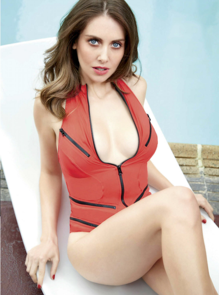 Alison Brie Backside Thighs Photos