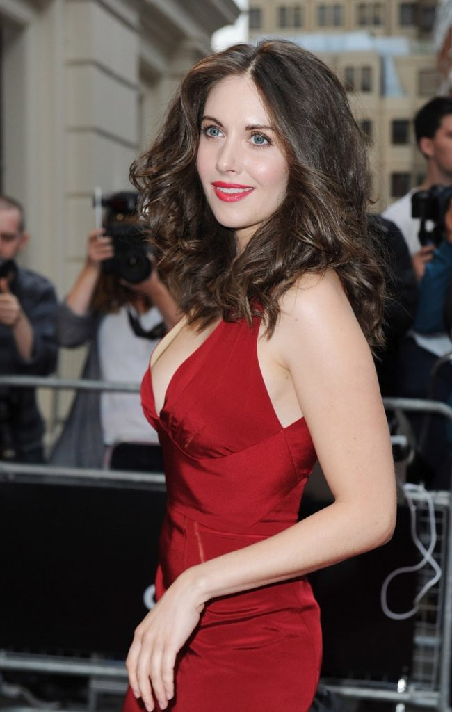 Alison Brie Lingerie Photos