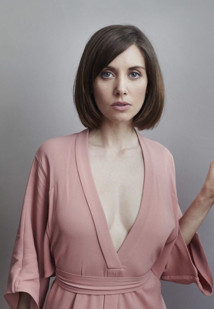 Alison Brie Short Hair Style Pics