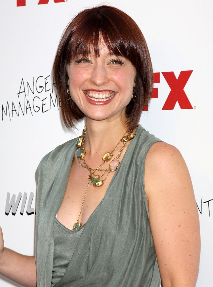 Allison Mack Smile Face Pictures
