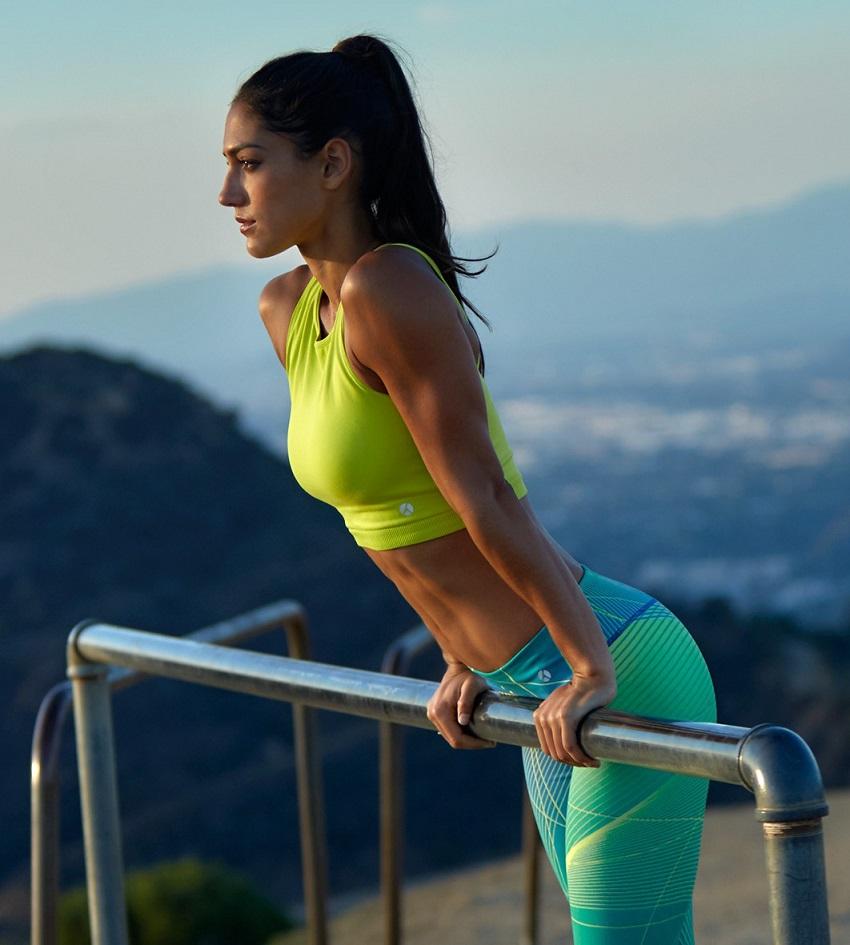 Allison Stokke Workout Photos