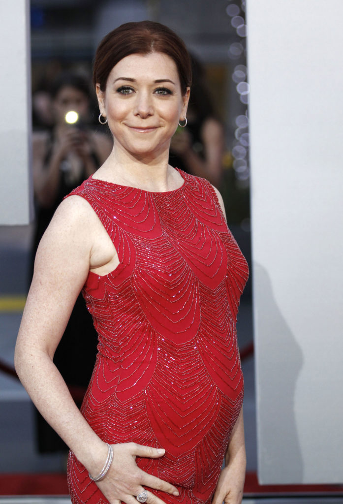 Alyson Hannigan Baby Bump Images
