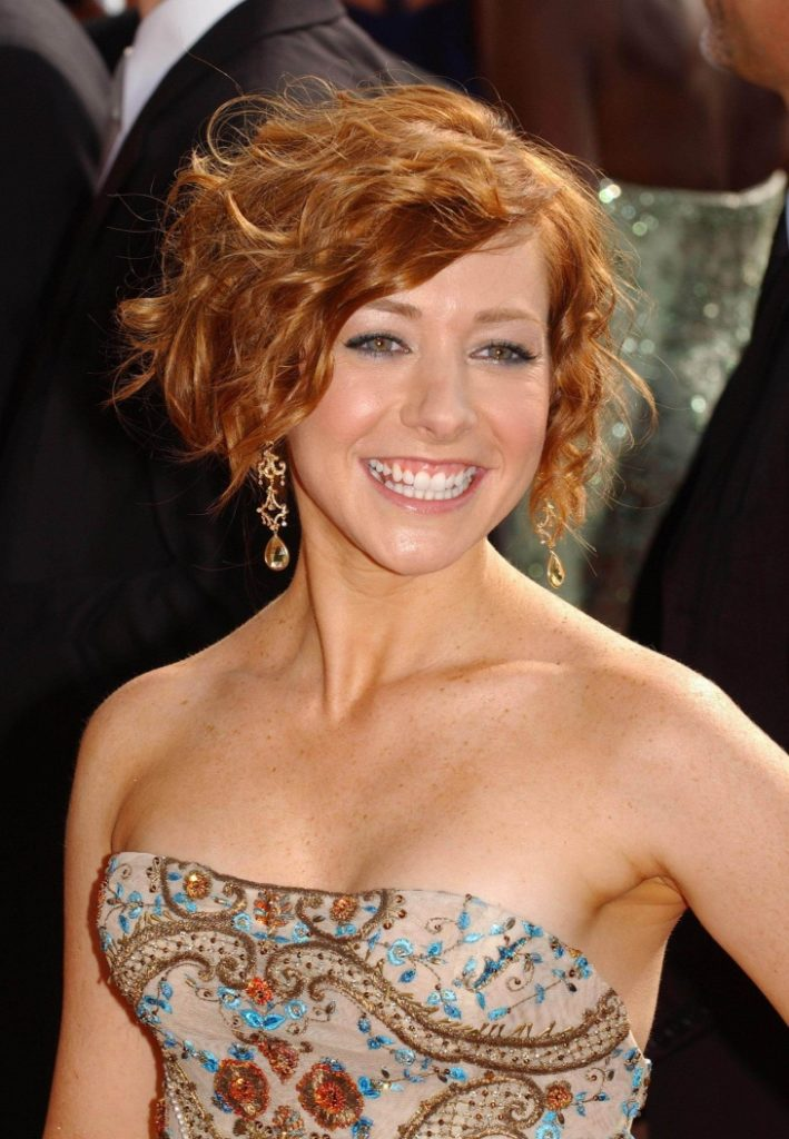 Alyson Hannigan Short Haircut Pictures