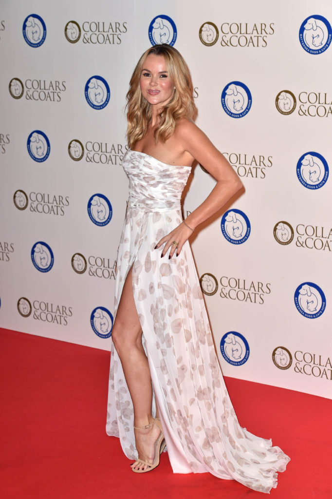 Amanda Holden Awards Pictures