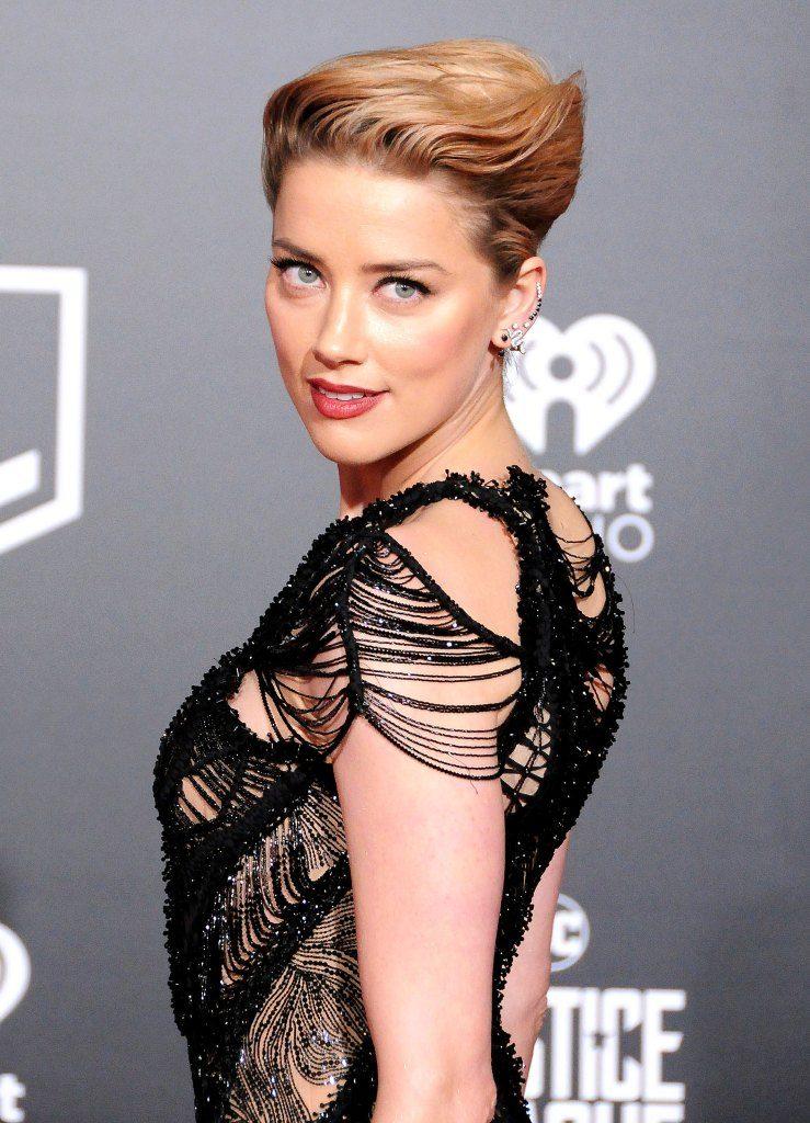 Amber Heard Short Hair Wallpapers