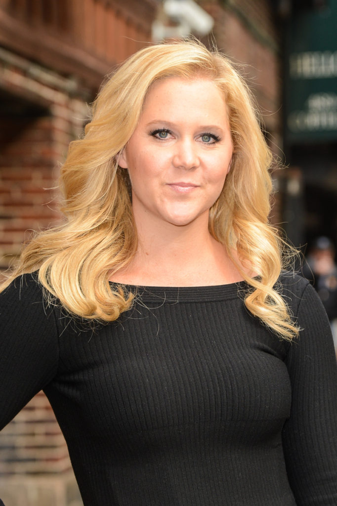 Amy Schumer New Hair Style Pics
