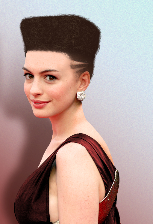 Anne Hathaway Hair Style Photos