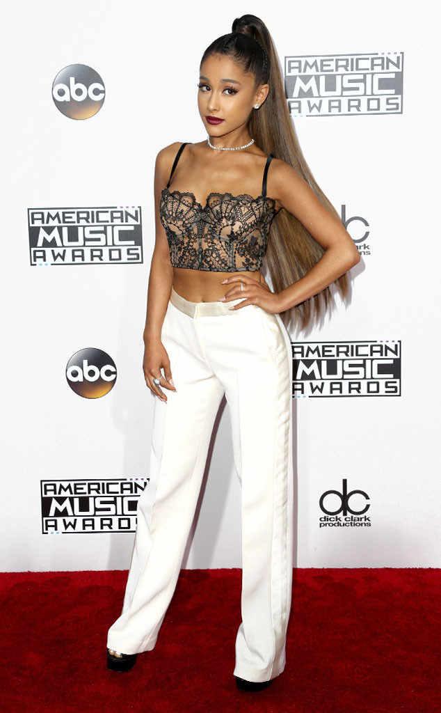 Ariana Grande Bra Images