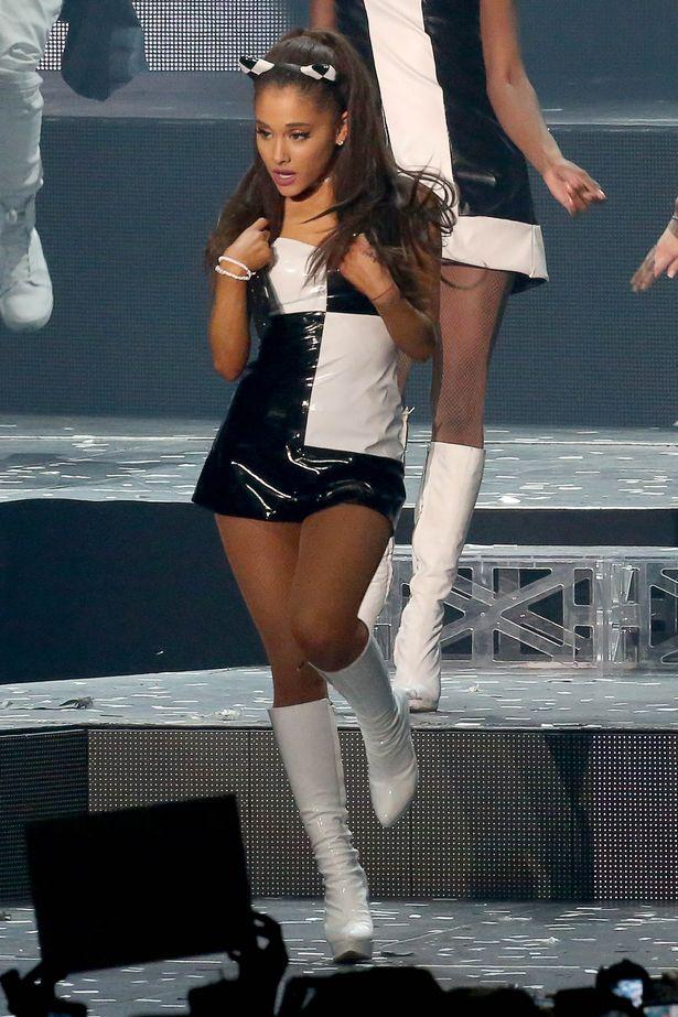 Ariana Grande Singing Pictures