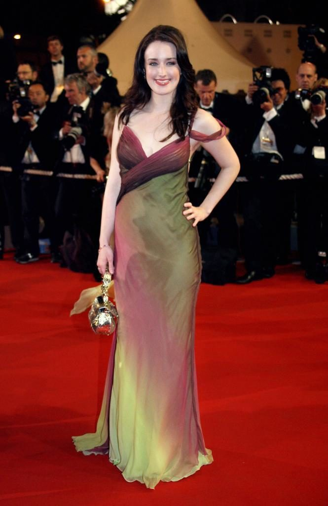 Ashley Johnson Gown Images