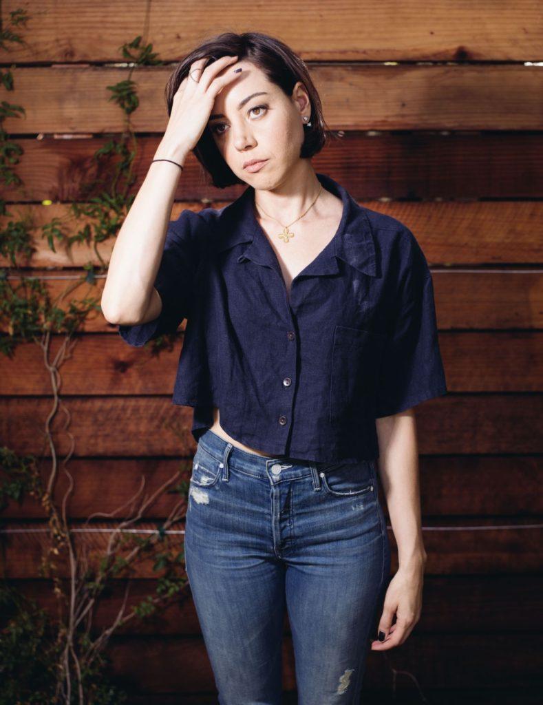 Aubrey Plaza Jeans Photos