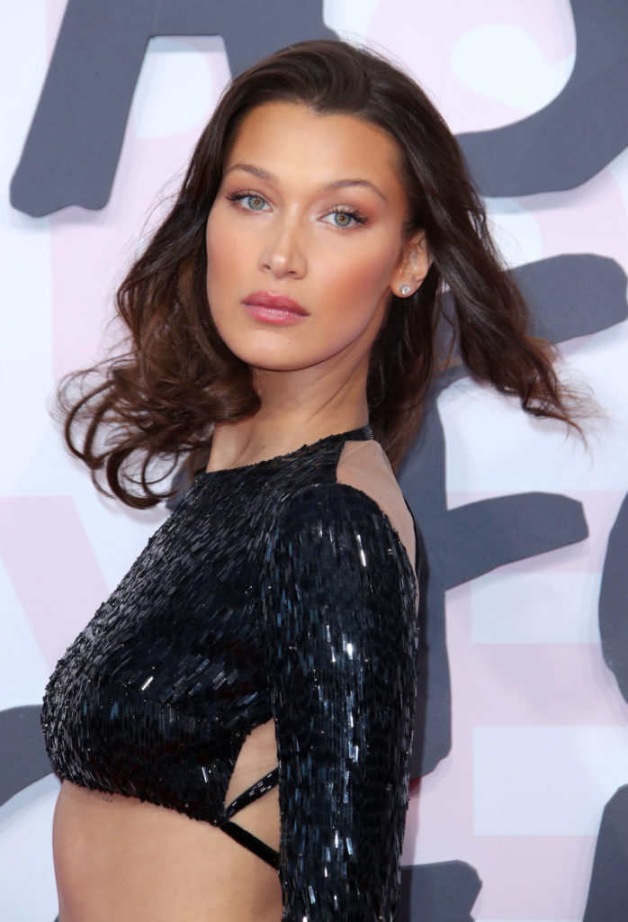 Bella Hadid Bra Photos