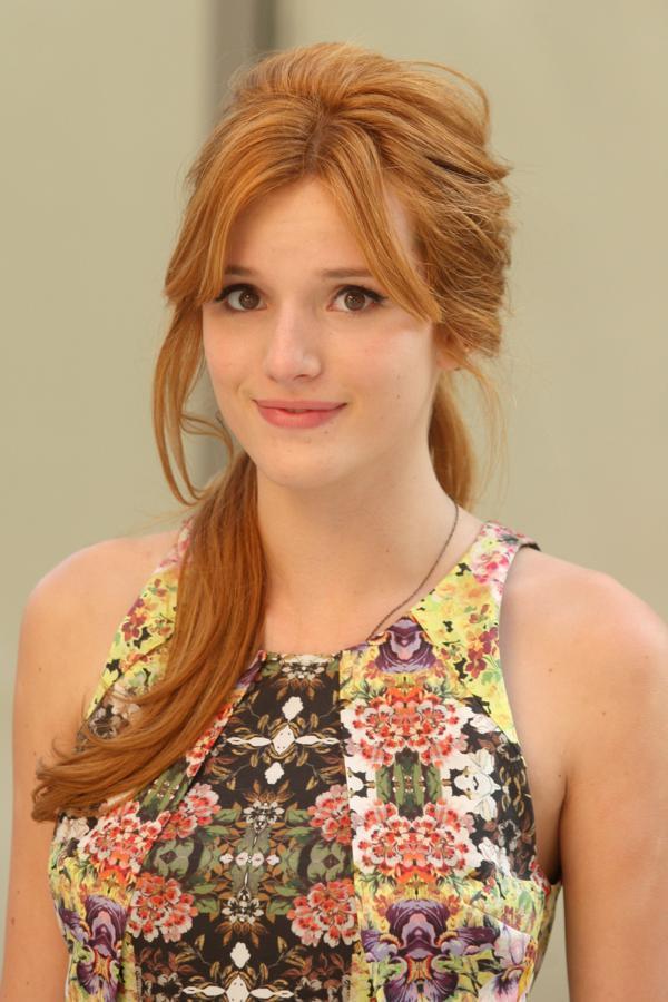 Bella Thorne New Hair Style Pics