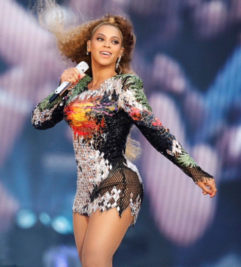 Beyonce Stage Show Pics