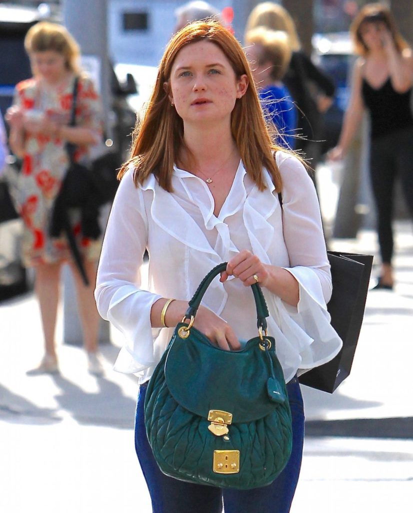 Bonnie Wright Oops Moment Pictures