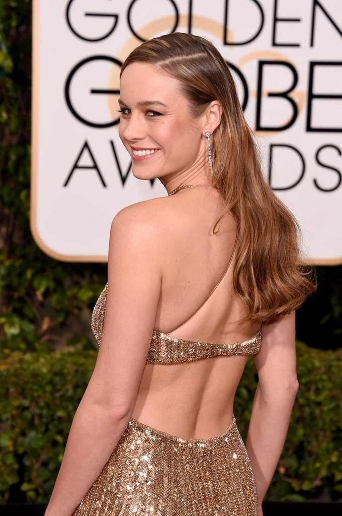 Brie Larson Backless Wallpapers