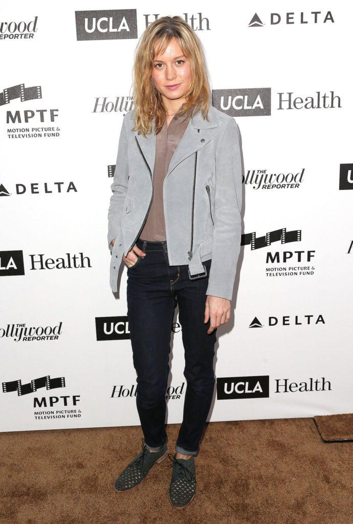 Brie Larson Jeans Photos