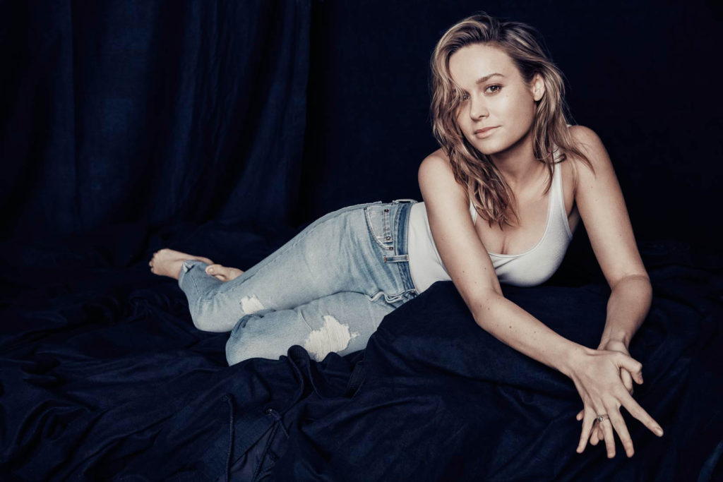Brie Larson Jeans Pictures