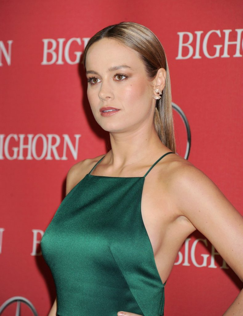 Brie Larson Muscles Images