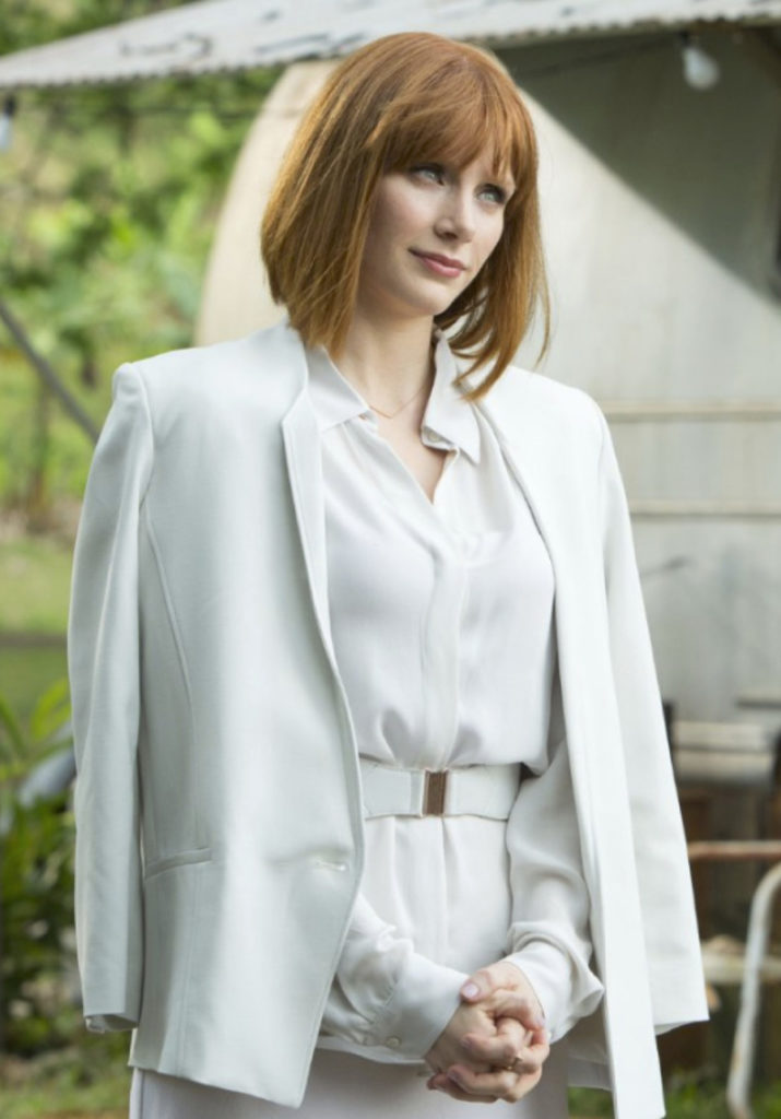 Bryce Dallas Howard White Clothes Images