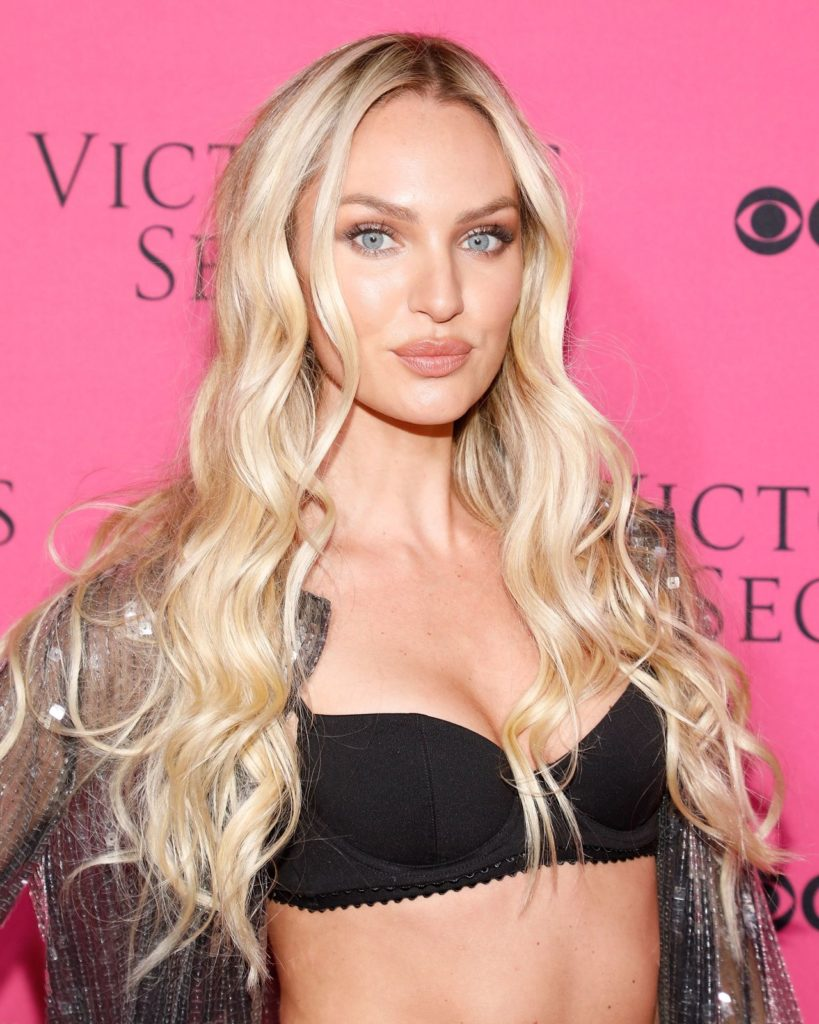 Candice Swanepoel Bra Photos