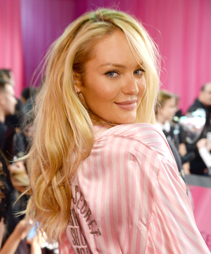 Candice Swanepoel Hair Pictures