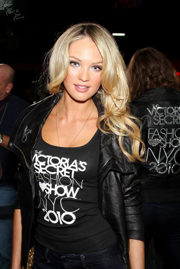 Candice Swanepoel Hair Style Images