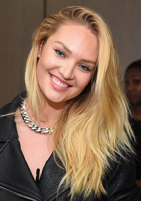 Candice Swanepoel Smileing Wallpapers