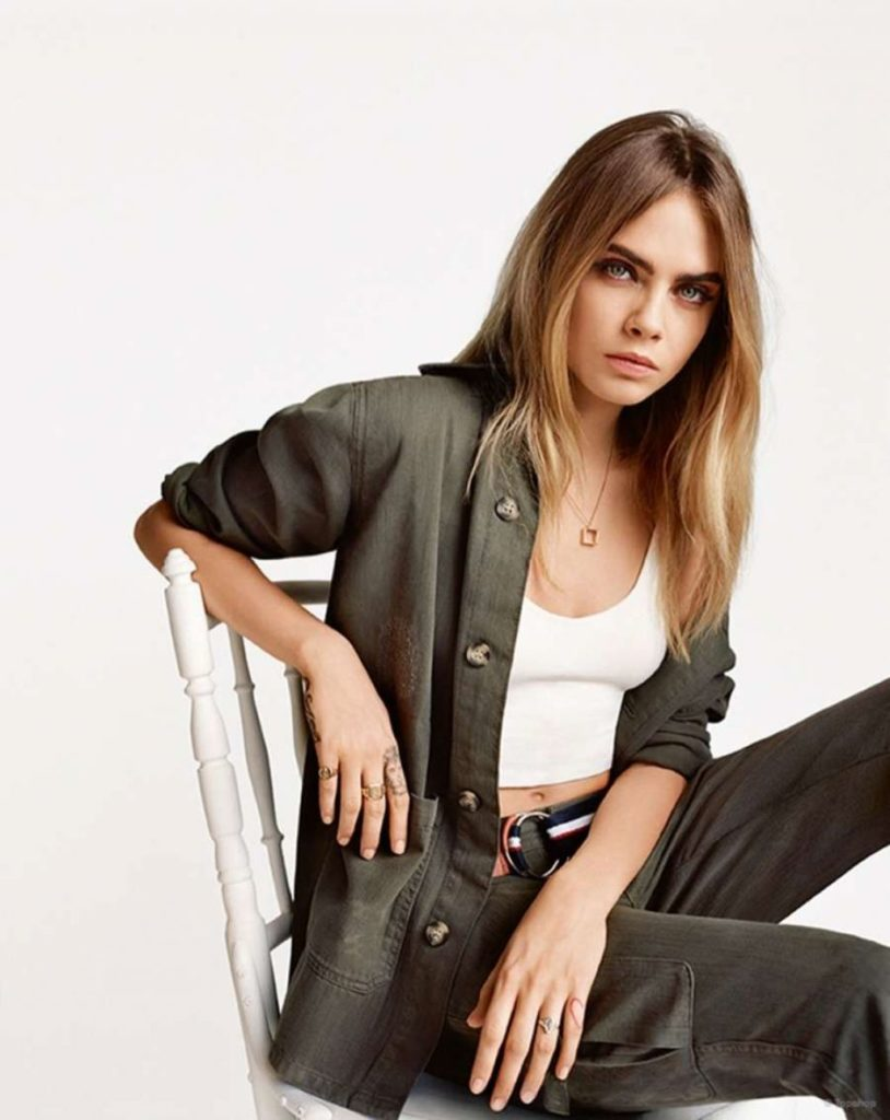 Cara Delevingne Hair Style Photos