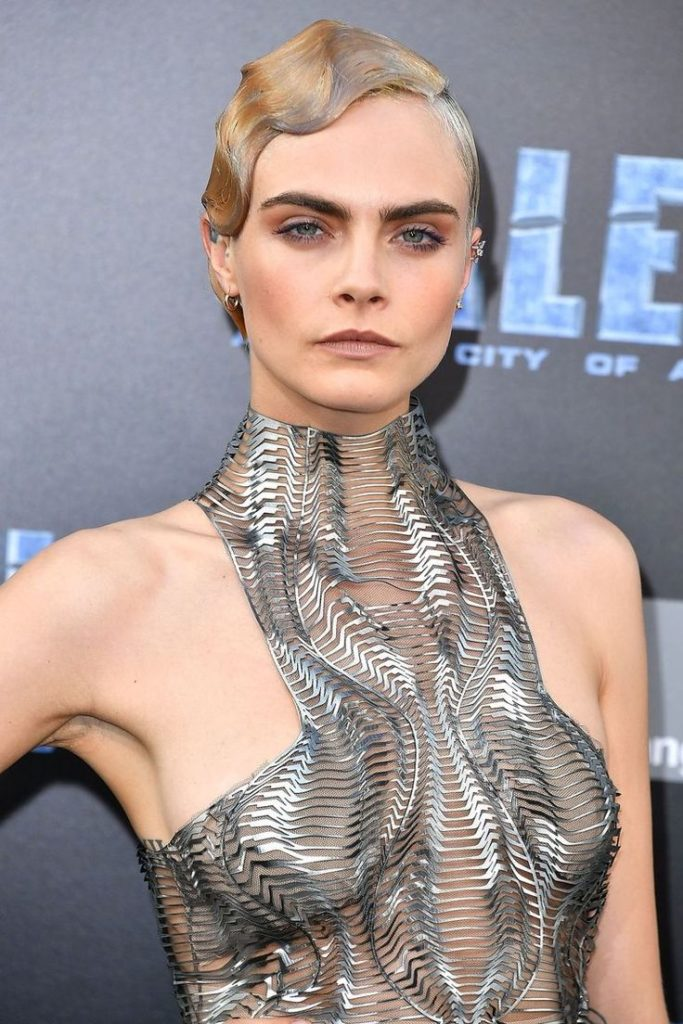 Cara Delevingne New Hair Style Images