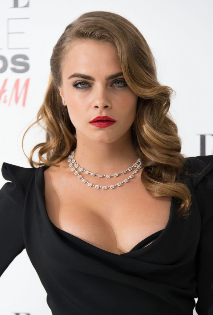 Cara Delevingne Topless Wallpapers