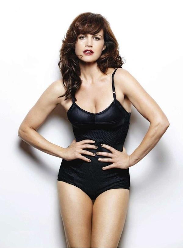 Carla Gugino Bikini Pics