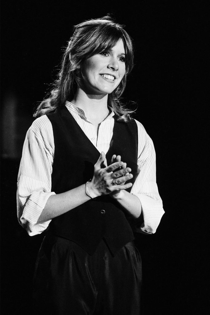 Carrie Fisher Black & White Images