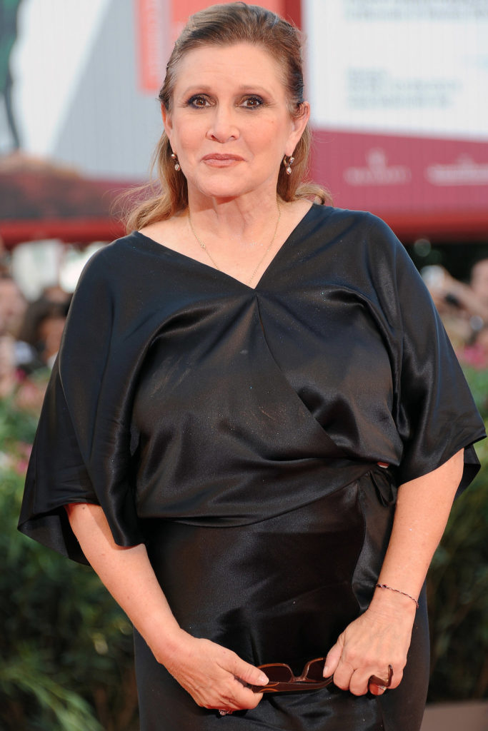 Carrie Fisher Leaked Images