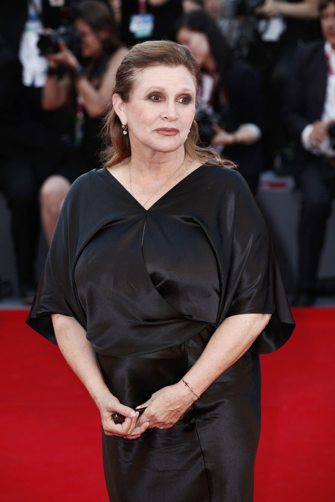 Carrie Fisher Redcarpet Images