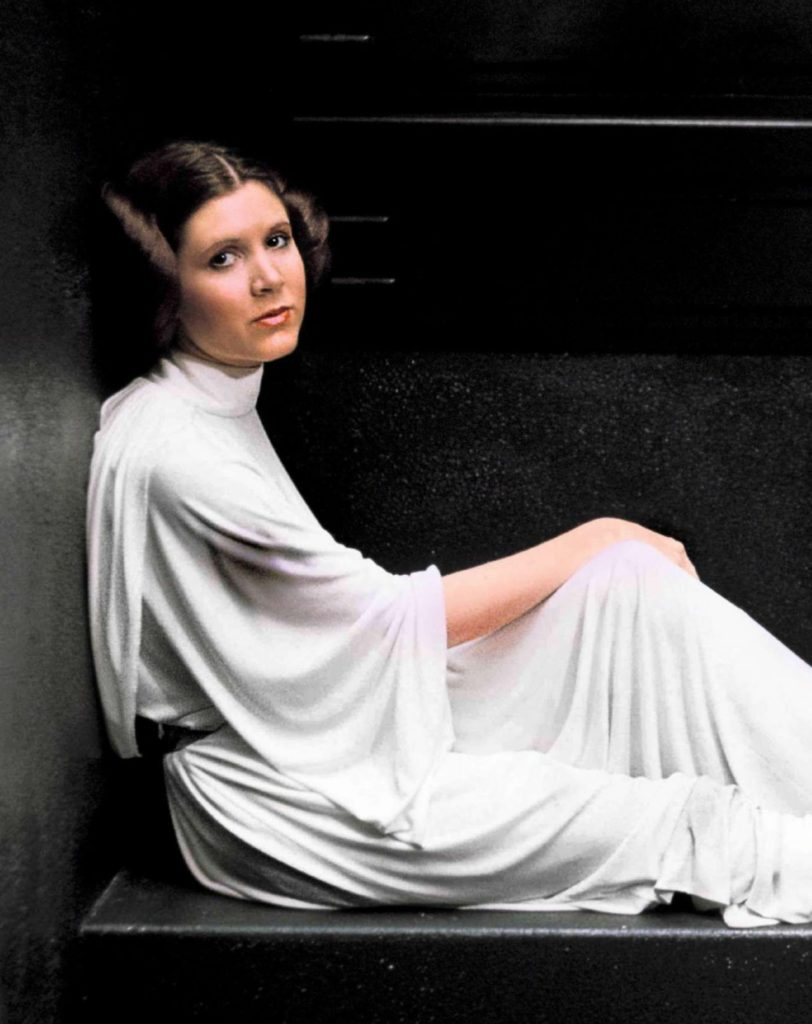 Carrie Fisher Young Images