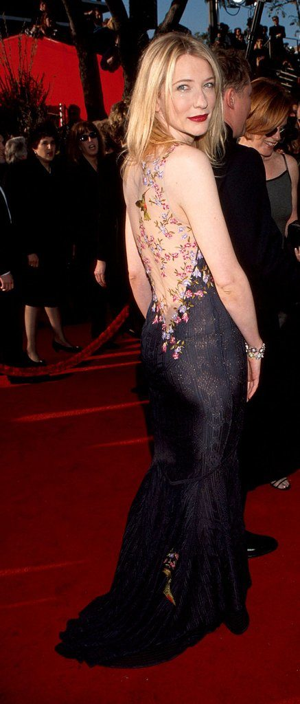 Cate Blanchett Backless Images