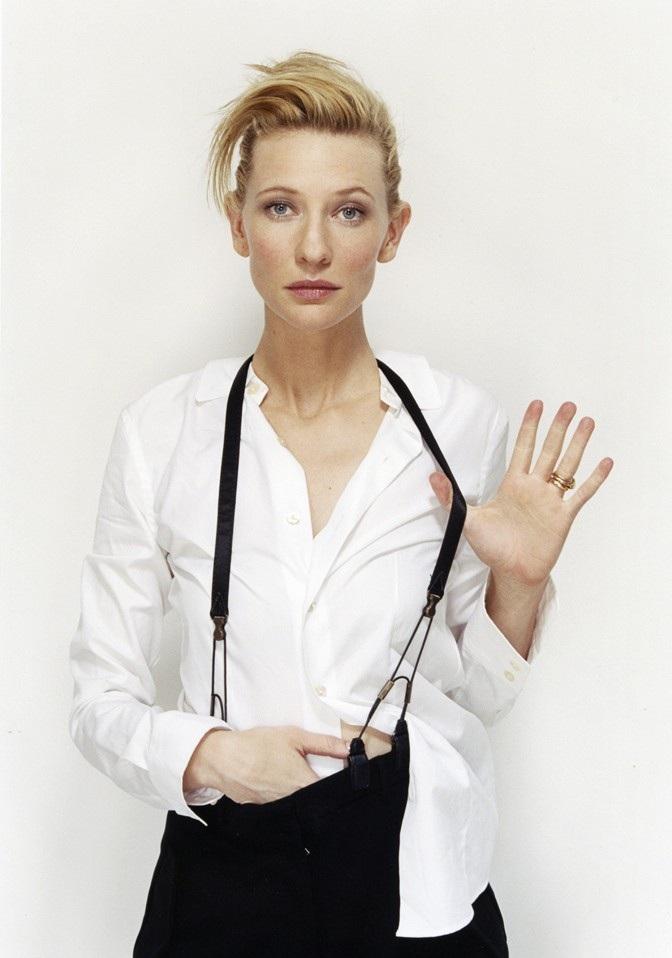 Cate Blanchett Bun Images