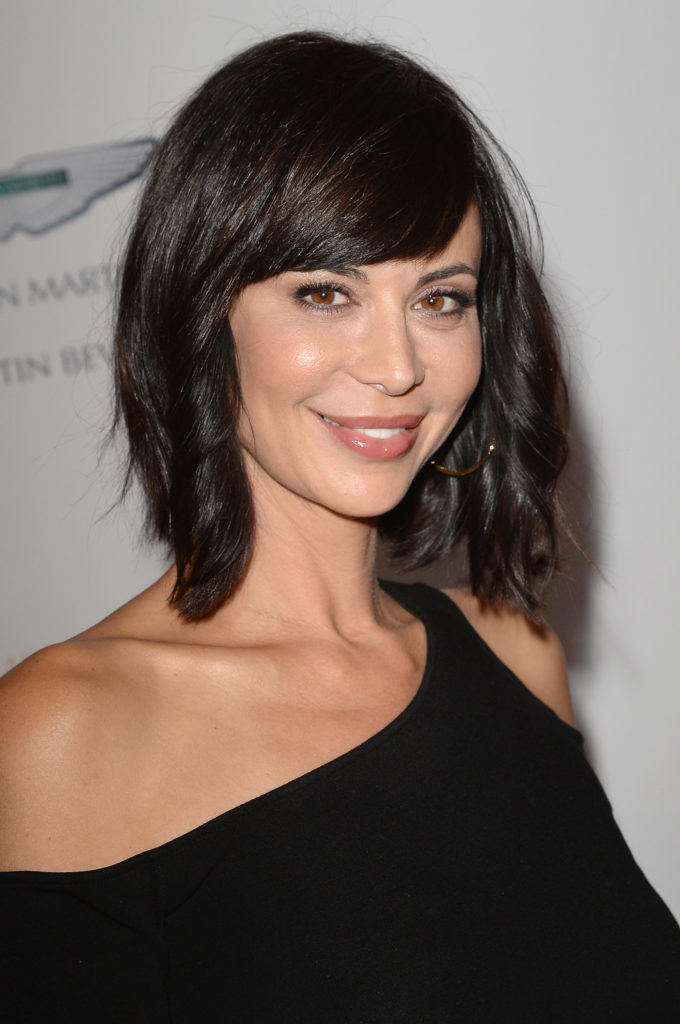 Catherine Bell Short Hair Wallpapers