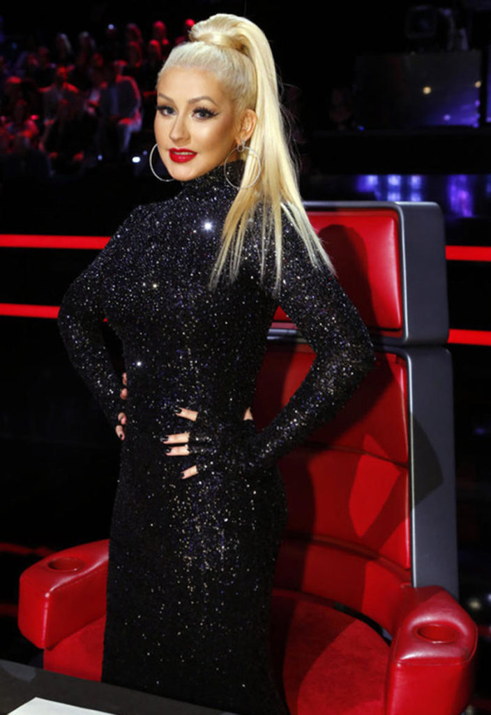 Christina Aguilera Hair Style Pics