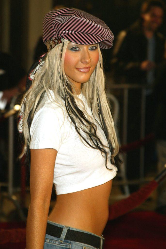 Christina Aguilera Lingerie Images