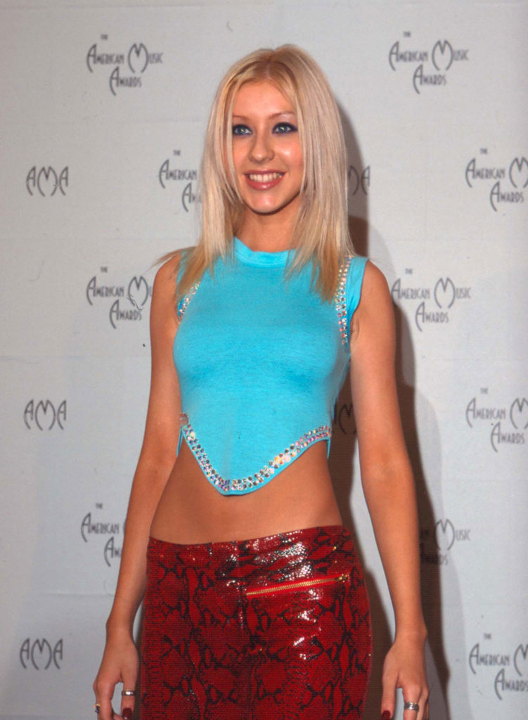 Christina Aguilera Shorts Images