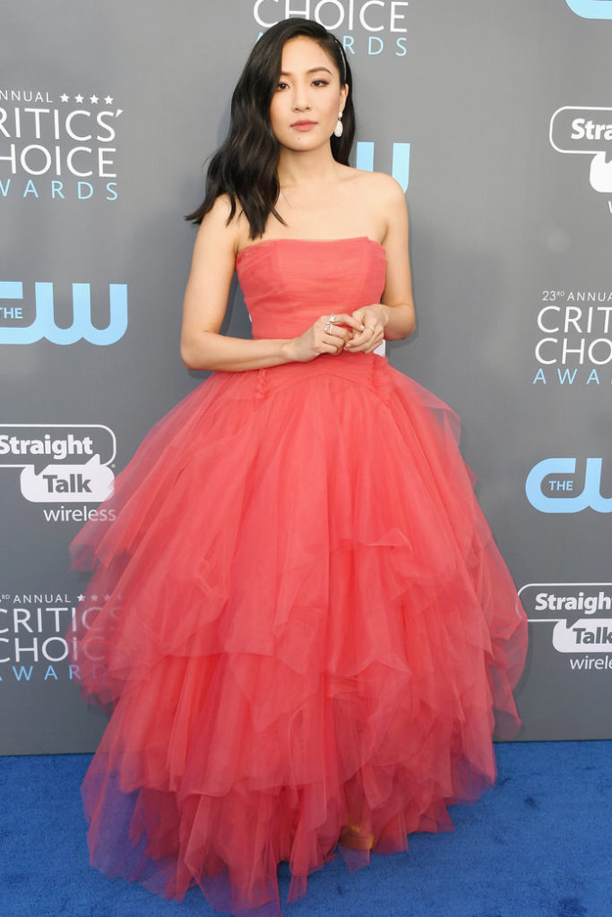Constance Wu Gown Images