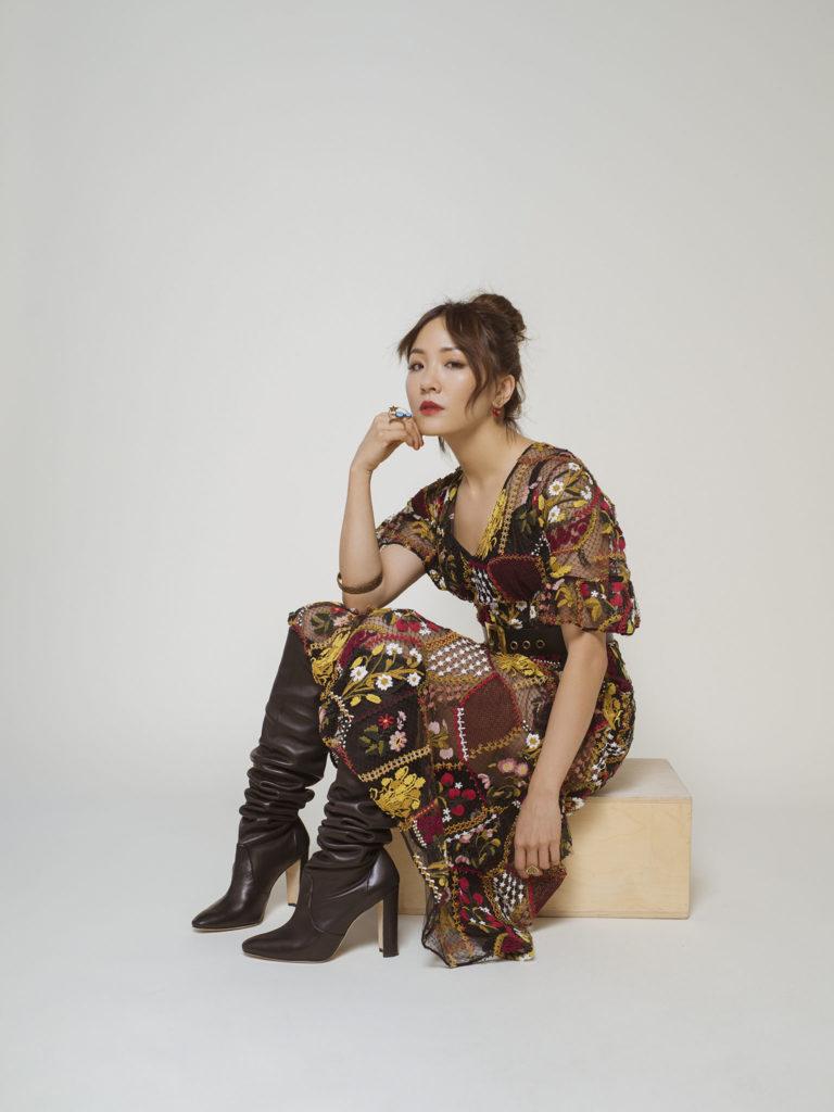 Constance Wu High Heals Photos