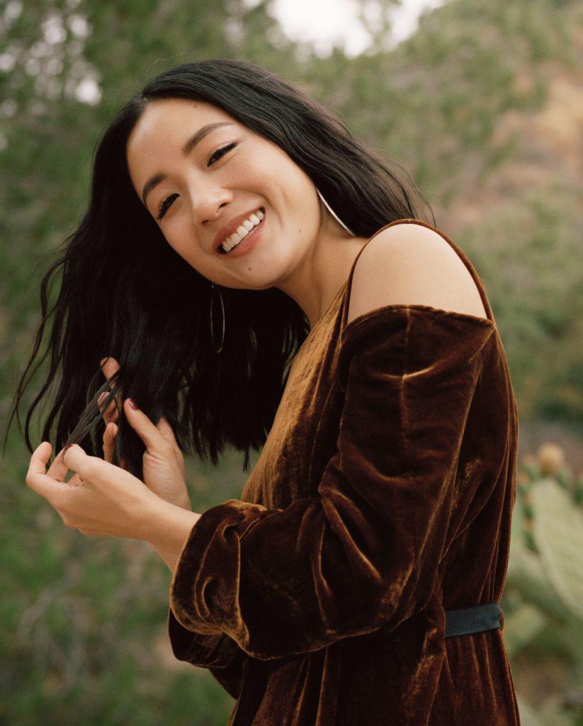 Constance Wu Makeup Photos