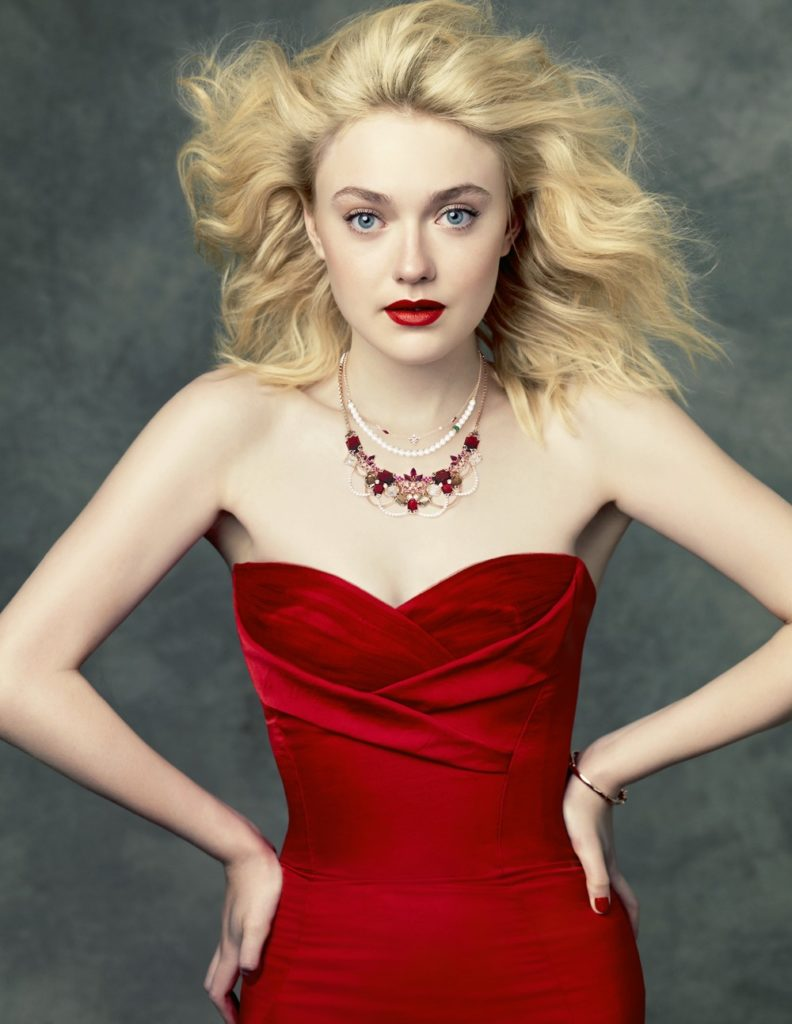 Dakota Fanning Bold Photos