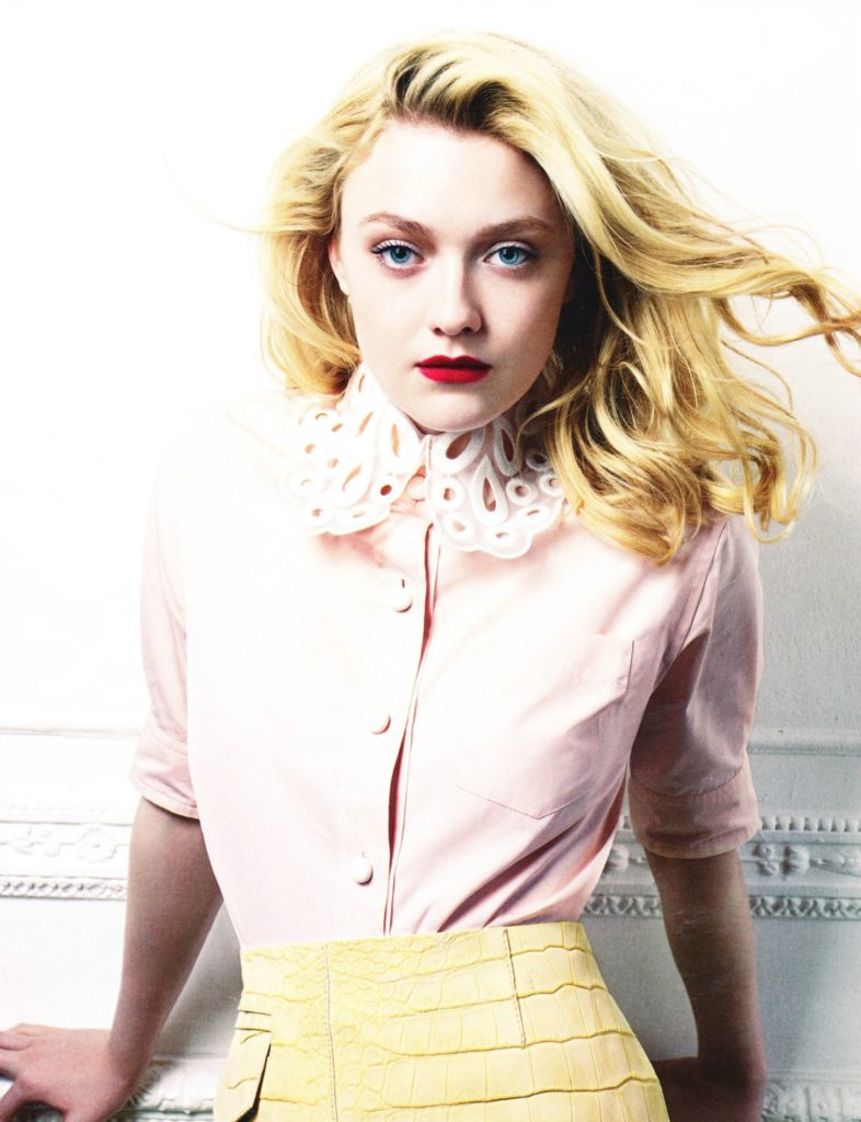 Dakota Fanning Makeup Images