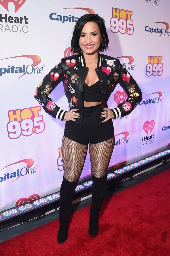 Demi Lovato Lingerie Images